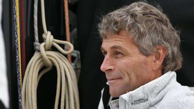 Der Skipper Bernard Stamm