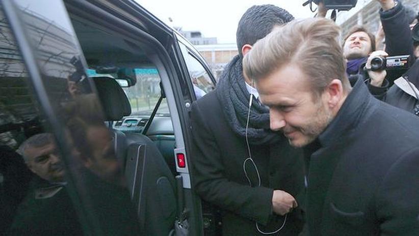 Fußball: Paris St. Germain holt David Beckham