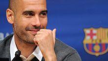 Sein Fußballideal wird gerade hymnisch gefeiert: Pep Guardiola.