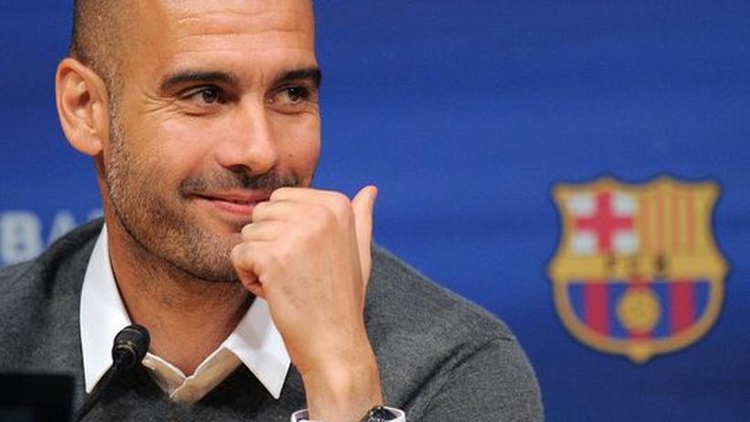 Philosoph: Sein Fußballideal wird gerade hymnisch gefeiert: Pep Guardiola.