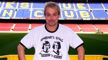 """Hendrik """"Henni"""" Nachtsheim im Camp Nou, dem Stadion des FC Barcelona"""