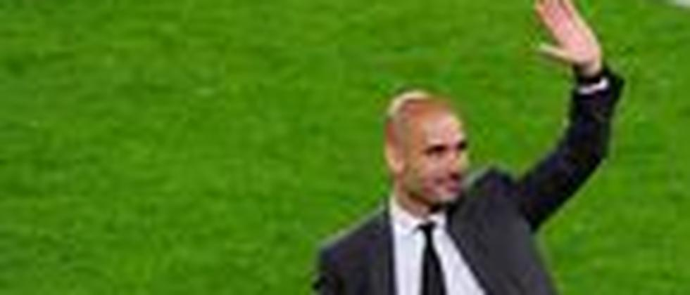 Da trainierte er noch den FC Barcelona: Josep Guardiola im Mai 2012