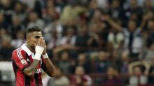 Kevin-Prince Boateng vom AC Mailand im Spiel gegen Inter Mailand im Oktober 2012