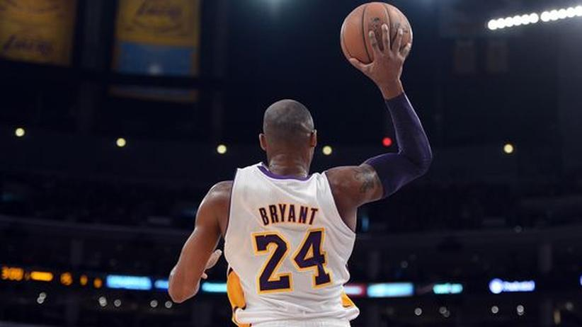 Kobe Bryant von den Los Angeles Lakers