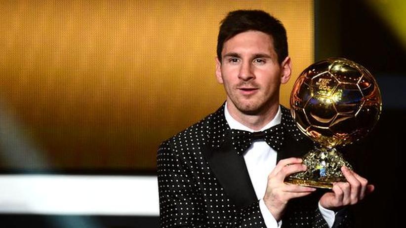 FIFA: Messi erneut Weltfußballer des Jahres