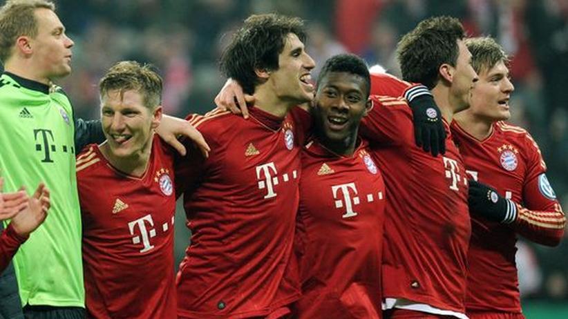 Bayern - Dortmund: Der FC Bayern macht sich breit auf seinem Thron