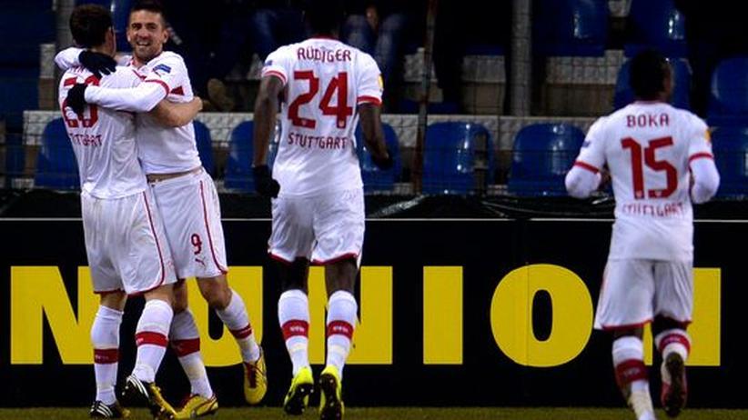 Europa League: Nur Stuttgart schafft es in die nächste Runde