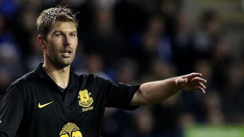 Thomas Hitzlsperger: Thomas Hitzlsperger im Einsatz für den FC Everton