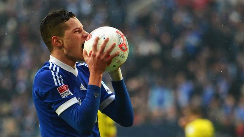 Fussball Bundesliga Schalke Feiert Den Anti Grosskreutz Zeit Online