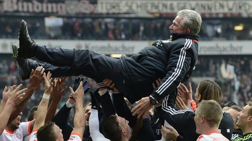 Bundesliga-Rückschau: Die Bayern nach dem Titelgewinn