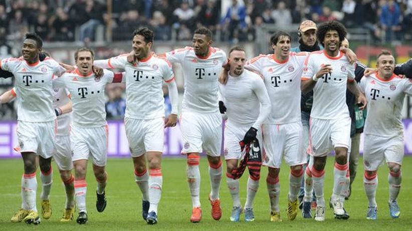Meister FC Bayern: Feierbiester sehen anders aus