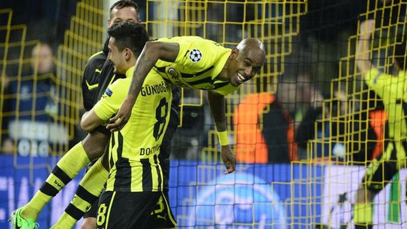 Champions League: Dortmund schießt sich in der Nachspielzeit ins Halbfinale