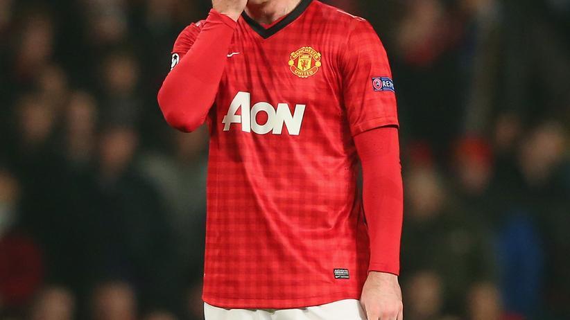 Manchester Uniteds Wayne Rooney