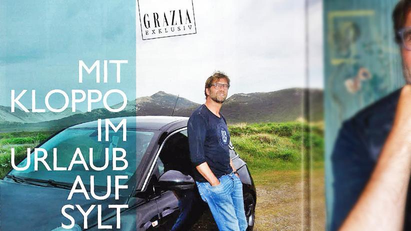 Jürgen Klopp und sein Auto auf Sylt