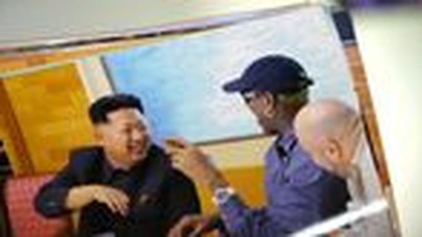 Rodman und Kim Jong Un: Verrückter Basketballer trifft auf Irren aus Pjöngjang