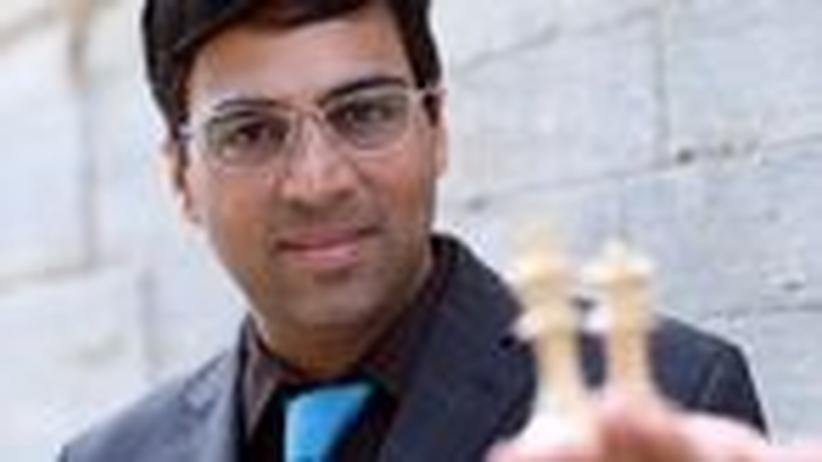Der Schachweltmeister Viswanathan Anand