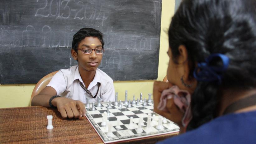 Schulschach in Indien: Indien zieht sich lauter kleine Anands heran