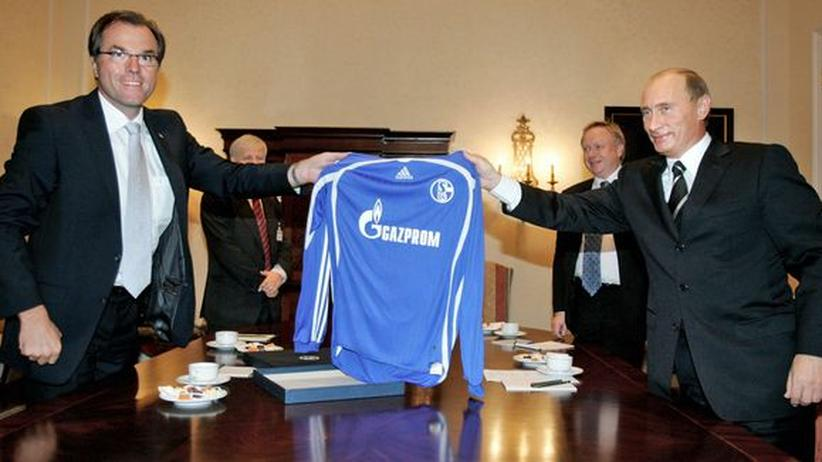 Gazprom: Ist uns Wurst