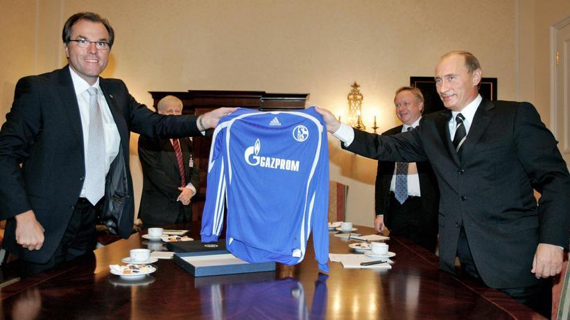 Gazprom: Schalke ist es Wurst, woher das Geld kommt
