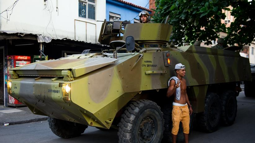 Brasilien: Auf den Hügeln von Rio ist Krieg ausgebrochen