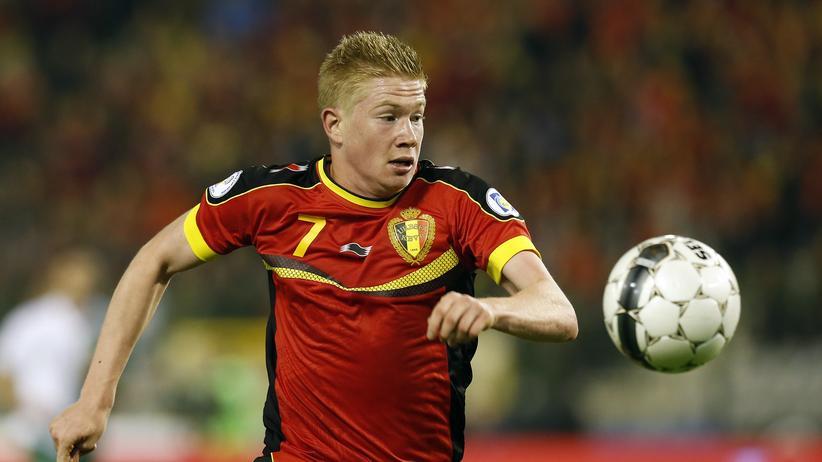 WM-Gruppe H: Gucken Sie sich bitte mal an, wie der de Bruyne laufen kann!