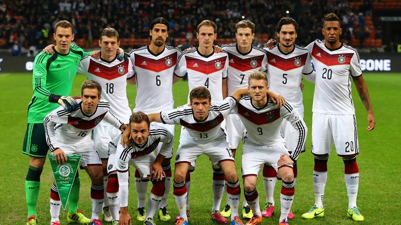 Das DFB-Team vor dem Testspiel gegen Italien im November