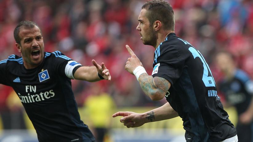 Bundesliga: Rafael van der Vaart und Pierre-Michel Lasogga
