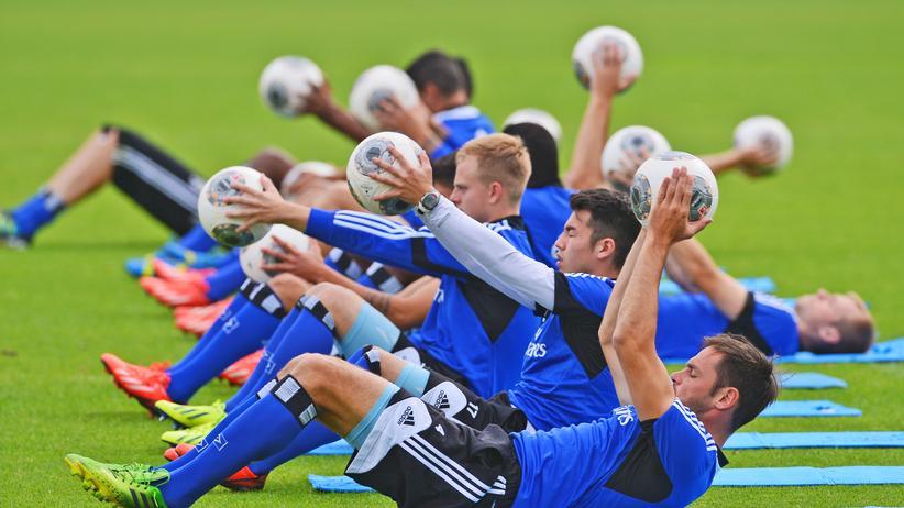 HSV: Im August 2013 - die Spieler des HSV bereiteten sich auf die neue Saison vor