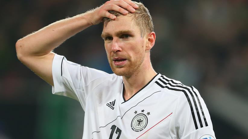Per Mertesacker: Per Mertesacker hätte selbst nicht gedacht, dass er sich zehn Jahre in der Nationalmannschaft hält.