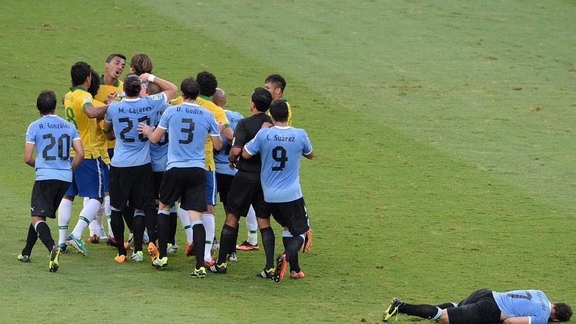 WM-Gruppe D: Meine Uru-Rüpel, die ungehobelten Männer in himmelblau