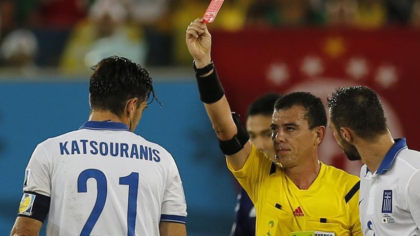 WM-Gruppe C: Zehn Griechen erkämpfen sich ein Unentschieden gegen Japan