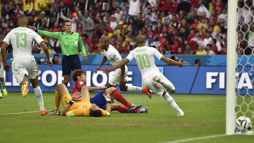 Fußball-WM Gruppe H: Algerien hofft nach Sieg gegen Südkorea auf das Achtelfinale