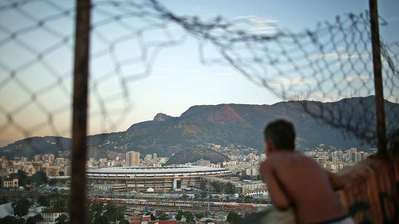 WM in der Favela: Wo die WM so nah ist, und doch so fern