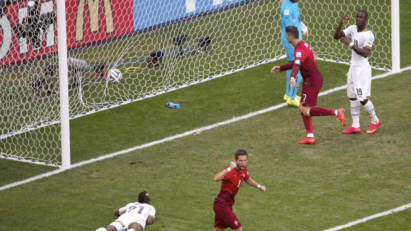 Fußball-Weltmeisterschaft: Portugal besiegt Ghana mit 2:1
