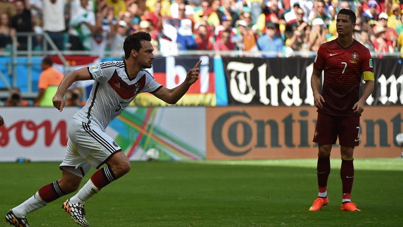 Mats Hummels im Spiel gegen Portugal