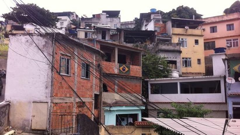 WM in der Favela: Häuser in Mangueira