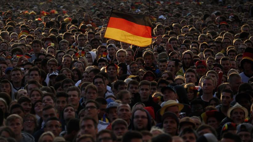 Fußball-WM: Public Viewing in Hamburg