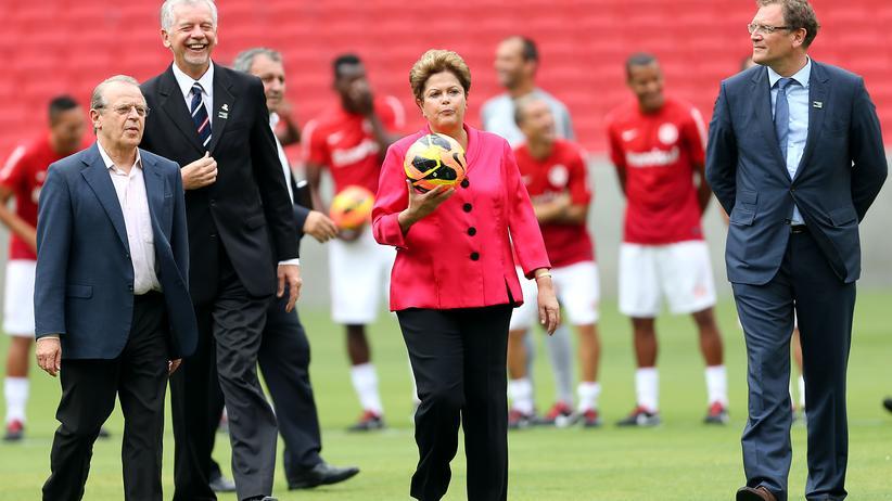 Dilma Rousseff: Brasiliens Präsidentin Dilma Rousseff