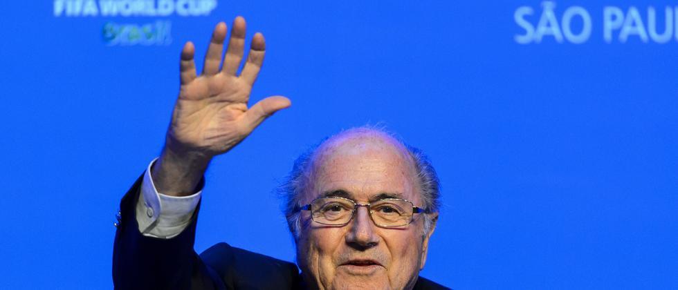 Sepp Blatter auf dem Fifa-Kongress
