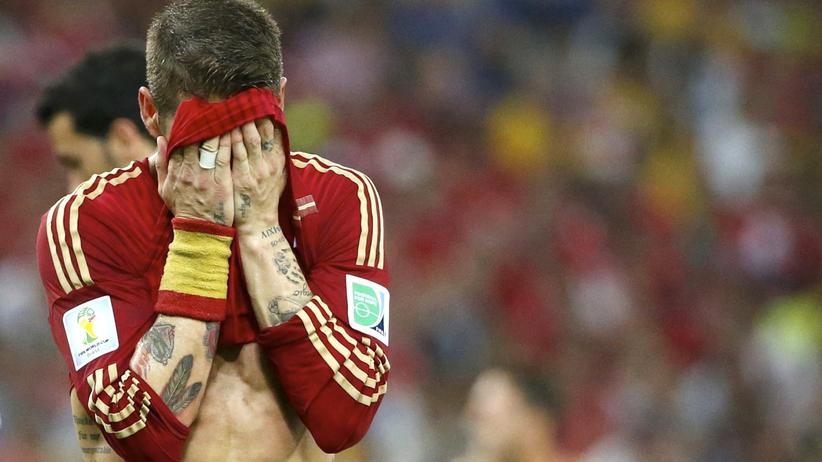 Spaniens WM-Aus: Adios, España