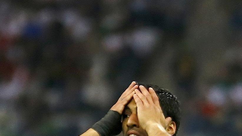 Fußball-Weltmeisterschaft: Uruguays Stürmer Luis Suárez