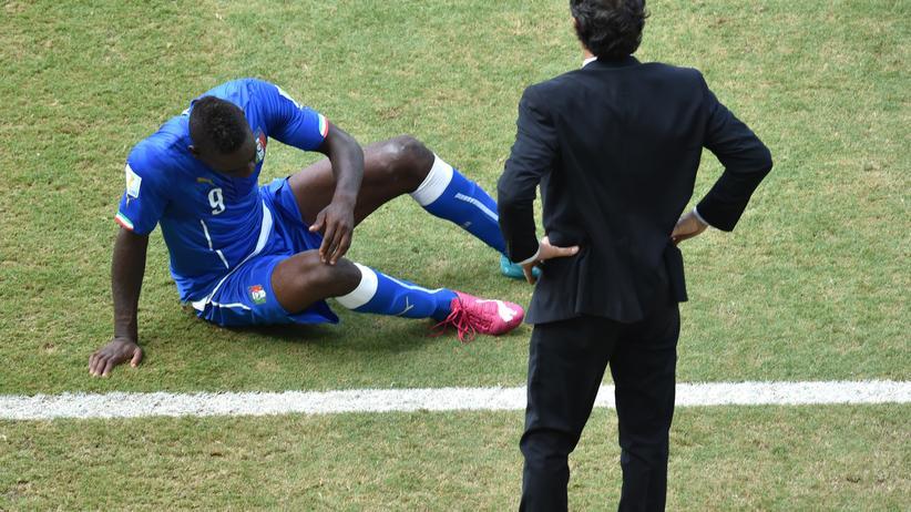 Fussball-Weltmeisterschaft: Uruguay schickt Italien heim