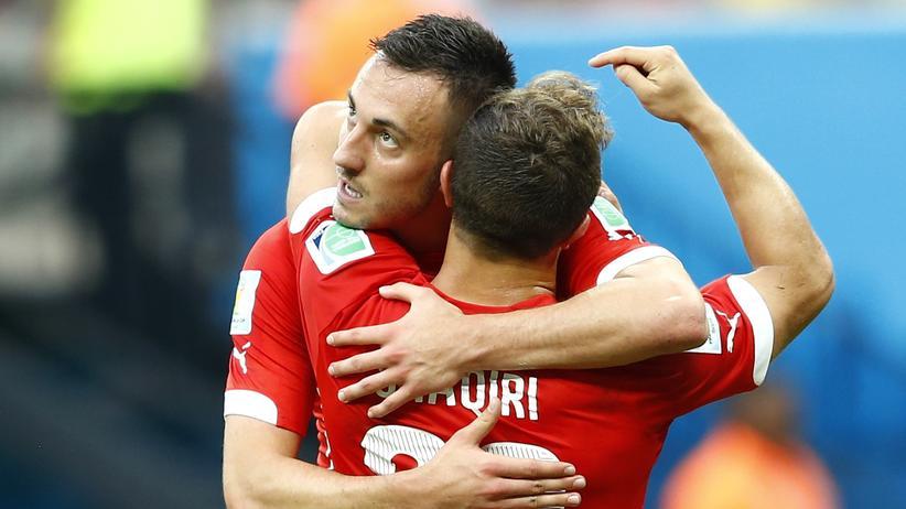 Honduras gegen Schweiz: Der Schweizer Spieler Xherdan Shaqiri