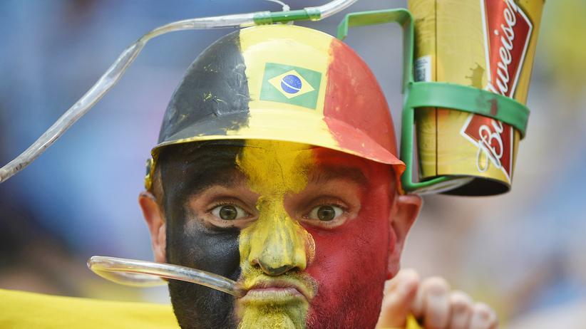 Belgische Fans in Brasilien