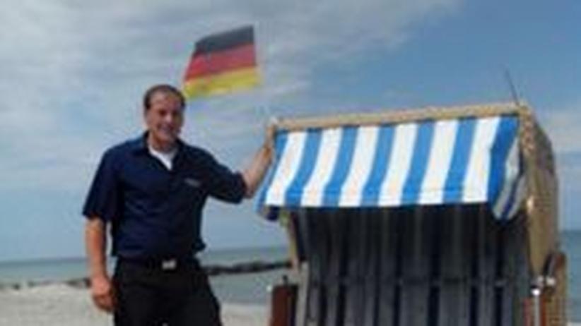 Dirk Rose, 42, Strandwärter in Brasilien