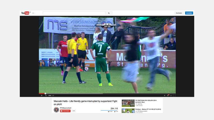 Maccabi Haifa: Maccabi Haifa spielt gegen den OSC Lille