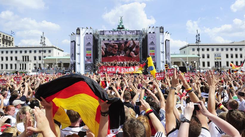 Deutsche Nationalmannschaft: Peinlicher Auftritt auf Siegesfeier