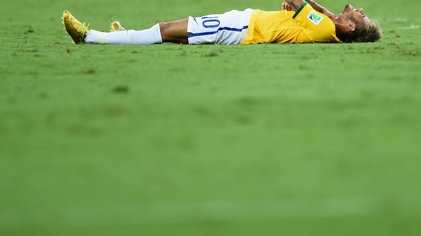 WM-Aus für Neymar: Neymar im Spiel gegen Kolumbien