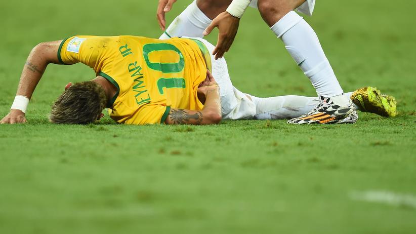 Brasilien gegen Kolumbien: Das Drama um Neymar