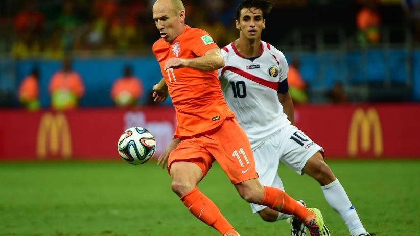 Niederlande Costa Rica Fußball-WM